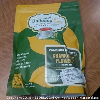 Delicacy Tea Chamomile Flowers Herbal Tea