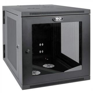 "Tripp Lite 12U Wall Mount Rack Enclosure Server Cabinet with Acrylic Glass Window, Hinged, 32.5"" Deep, UPS-Depth (SRW12US33G) (Retail $536.00)"