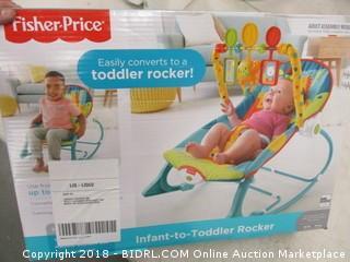 Fisher Price Toddler Rocker