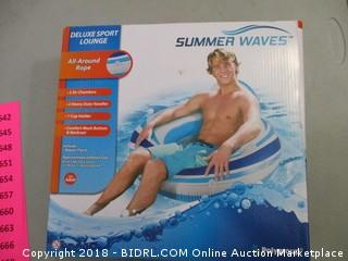 Summer Waves Deluxe Sport Lounge