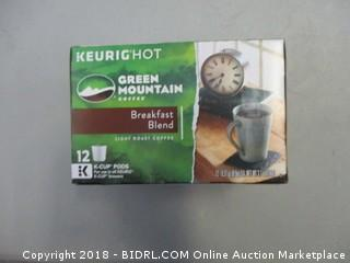 Green Mountain Breakfast Blend Coffee K-Cups
