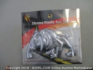 Chrome Plastic Bull Dog Truck Accessories