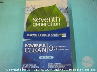 Dishwasher Detergent Powder