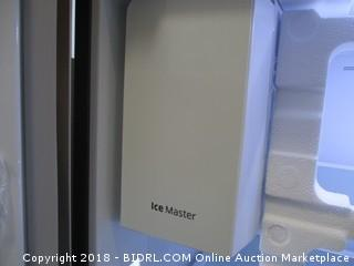Samsung Refrigerator Powers On, Dented - See Pictures