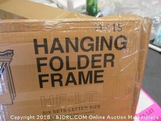 Hanging Folder Frame