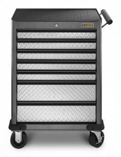 Gladiator GarageWorks GATR27P7WG Premier 7-Drawer Roll-Away Cabinet