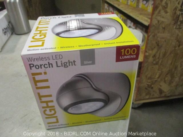 LED Lights Auction - STOCKTON - August 13th