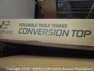 Foldable Table Tennis Conversion Top
