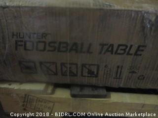 Hunter Foosball Table