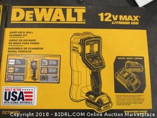 DeWalt handheld wall scanner kit