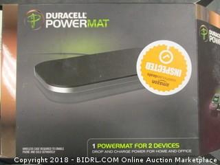 Duracell PowerMat portable charger