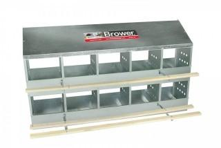 Brower 410B Poultry 10-Hole Nest (Retail $199.00)