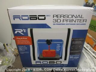 Robo Personal 3D Printer (Powers On)