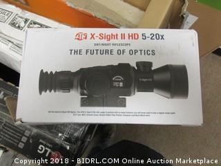 X-Sight ll HD 5-20x Riflescope