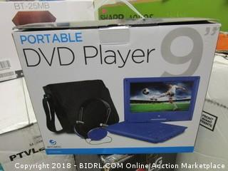 Portable DVD Player (Powers On)