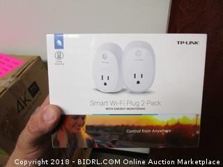 Smart Wi-Fi Plug 2-Pack