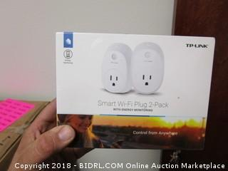 Smart Wi-Fi Plug 2-Pack (Sealed)