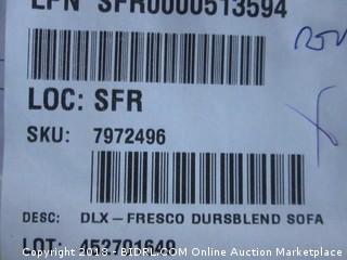 Signature Design by Ashley Fresco Sofa (MSRP $2800)