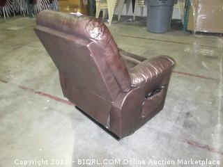 Handy Living Robin Brown Recliner (MSRP $1005)