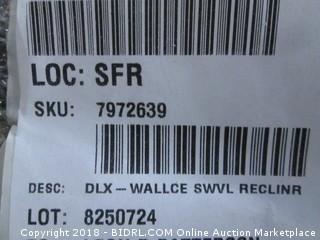 Wallce Swivel Recliner (MSRP $2440)