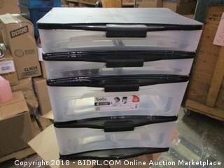 Stacked Storage Bins