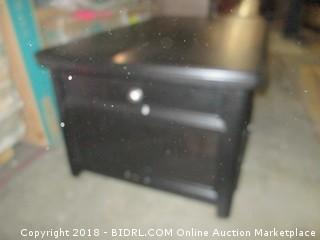 Coffee Table with Lift Top and Drawers See Pictures/ damaged