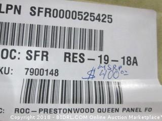 Signature Queen Footboard (MSRP $400)