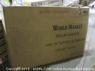 World Market Jaelyn Tufted Headboard