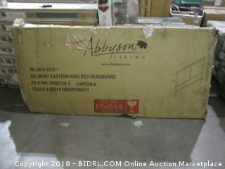 Abbyson Belmont Eastern Kind Bed Headboard