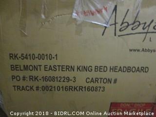 Abbyson Belmont Eastern Kind Bed Headboard