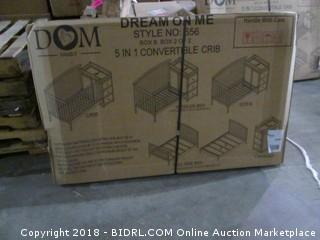 Dream On Me 5 in 1 Convertible Crib