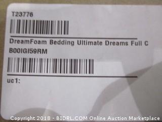 Dream Foam Bedding Ultimate Dreams Full Crazy Euro Top Mattress 9 inch