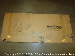 Innova ITX9600 Heavy Duty Inversion Table with Adjustable Headrest & Protective Cover (Retail $91.00)