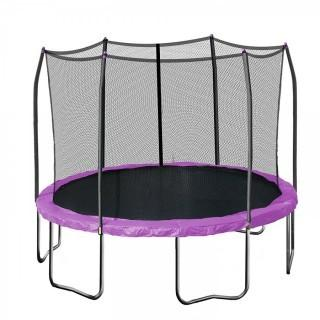 Skywalker Trampolines 12-Feet Round Trampoline and Enclosure with Spring Pad (Retail $244.00)