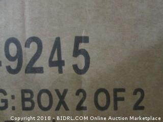 Furniture of America Metal Full Size Bunk Bed  HB & Ft, Side Rails, Ladder  Complete Set