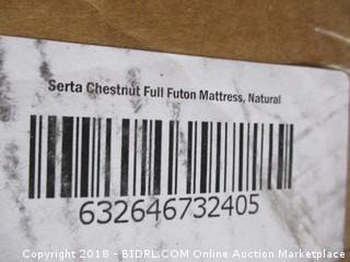 Serta Chestnut Full Futon Mattress   Full