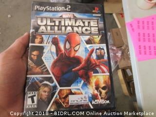 PlayStation 2 Marvel Ultimate Alliance