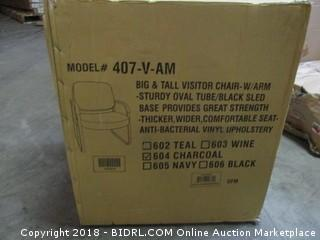 Big & Tall Visitor Chair - w/ Arm