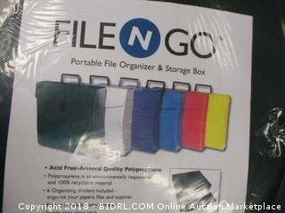 file organizer and storage box
