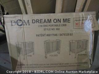 Dream On Me 2 in 1 Portable Crib