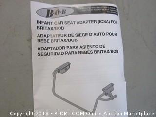 Infant Car Seat Adapter For Britax/BOB