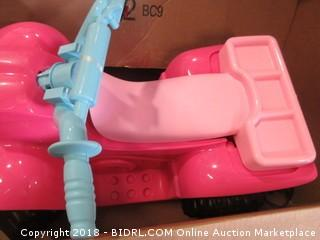 Power Wheels Pink Quad