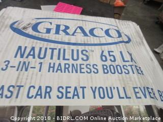 Graco Nautilus 65 LX 3 in 1 Harness Booster
