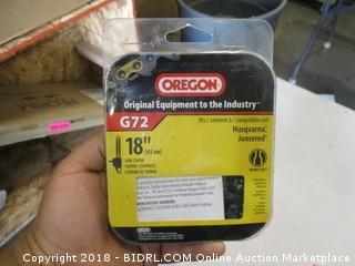 """Oregon G72 18"""" Saw Chain"""