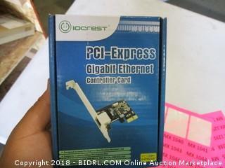 PCI-Express Gigabit Ethernet Controller Card