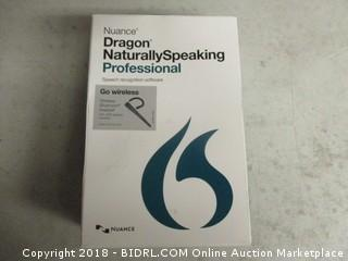 Dragon Naturally Speaking Voice Recognition Software