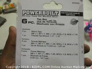 Power Built Tap Set
