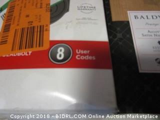 Kwikset Smartcode 909 Touchpad Electronic Deadbolt