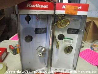 Kwikset Front Entry Door Handle