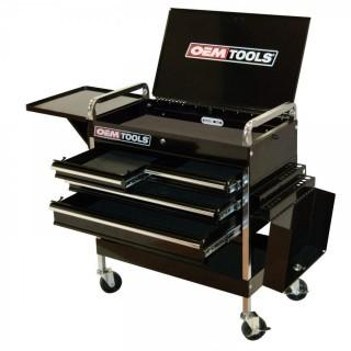 OEMTOOLS 24962 Service Cart with Four Drawers and One Tray (Retail $299.00)